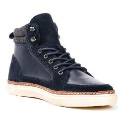 Men's Crevo Martel High Top Sneaker Navy Leather/Suede