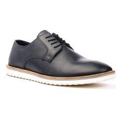 Men's Crevo Martin Oxford Black Leather