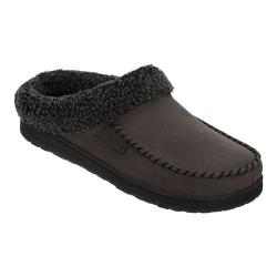Men's Dearfoams Berber Cuff Clog Slipper with Memory Foam Pavement