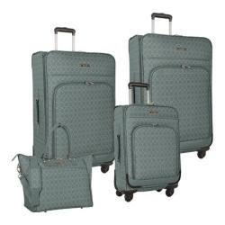 Women's Nine West Allea 4-Piece Luggage Set Cobblestone