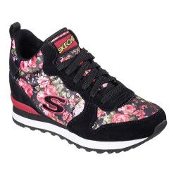 Women's Skechers Retros OG 85 Hollywood Rose High Top Black/Red