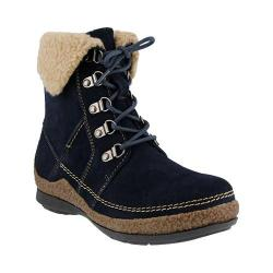 Women's Spring Step Biel Ankle Boot Navy Suede