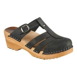 Women's Troentorp Bastad Clogs Mary Jane Graphite Suede