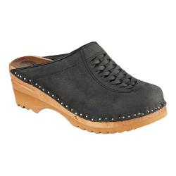 Women's Troentorp Bastad Clogs Wright Graphite Suede