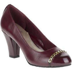 Women's Soft Style Cailna Pump Sassafras Vitello/Pearlized Patent