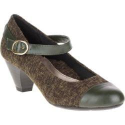 Women's Soft Style Geena Mary Jane Rosin Tweed/Rosin Vitello