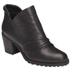 Women's Aerosoles Incline Ankle Boot Black Leather