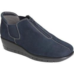 Women's Aerosoles Landfall Dark Blue Nubuck