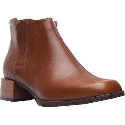 Women's Camper Kobo Chelsea Boot Medium Brown Smooth Leather