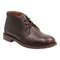 Men's Clarks Un.Elott Mid Chukka Boot Burgundy Cow Full Grain Leather