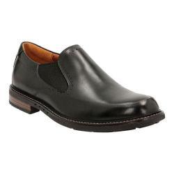 Men's Clarks Un.Elott Step Slip-On Black Cow Full Grain Leather