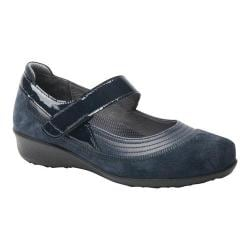 Women's Drew Genoa Mary Jane Navy Leather