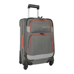Nautica Shipline 20in Qx Spinner Charcoal Grey/Orange