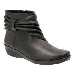 Women's Clarks Everlay Mandy Ankle Boot Black Sheep Full Grain Leather
