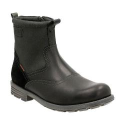 Men's Clarks Guard Top Waterproof Boot Black Cow Full Grain Leather