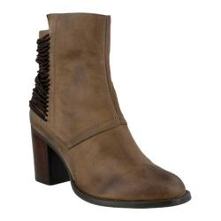 Women's Azura Apore Ankle Boot Khaki Micro Suede