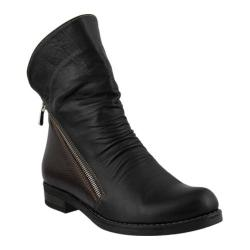 Women's Azura Dhuna Ankle Boot Black Leather