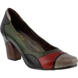 Women's L'Artiste by Spring Step Oeiras Pump Gray Multi Leather