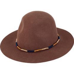 Women's San Diego Hat Company Wool Felt Fedora WFH8030 Camel