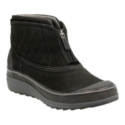 Women's Clarks Muckers Swale Ankle Boot Black Cow Nubuck