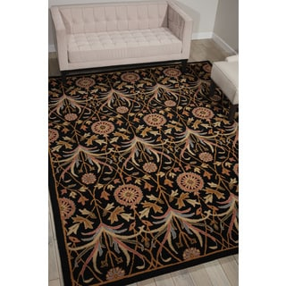 Nourison Grand Mahal Black Area Rug (8' x 10')