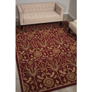 Nourison Grand Mahal Red Area Rug (8' x 10')