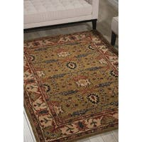 Nourison Grand Mahal Green Area Rug (5' x 7')