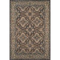 Momeni Tudor Grey Hand-Tufted Wool Rug (8' X 11')