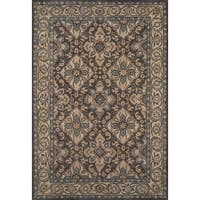 Momeni Tudor Grey Hand-Tufted Wool Rug (7'6 X 9'6)