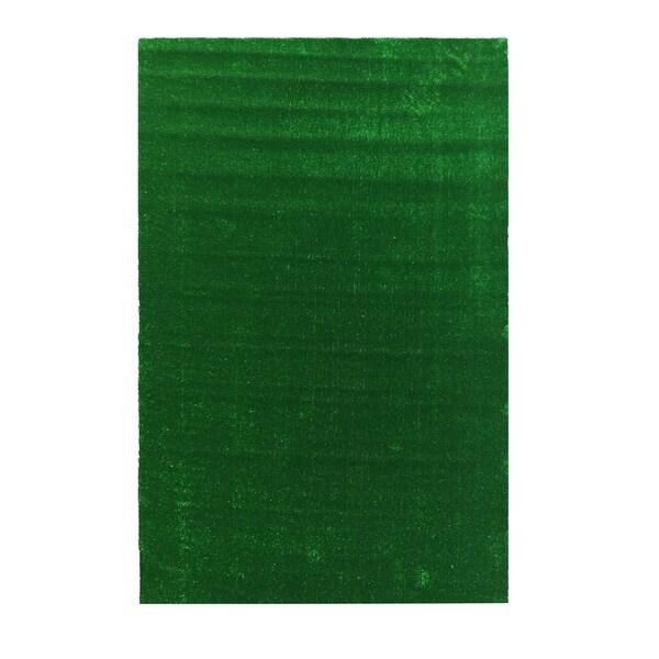Shop Ottomanson Evergreen Collection Green Artificial
