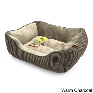Animal Planet Grid Pattern Cuddler Pet Bed (2 options available)