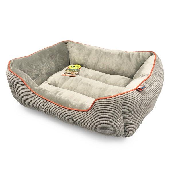 Animal Planet Grid Pattern Cuddler Pet Bed