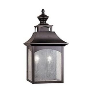 Feiss Homestead 2 Light Oil Rubbed Bronze Wall Lantern
