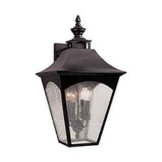 Feiss Homestead 4 Light Oil Rubbed Bronze Wall Lantern