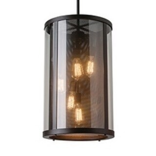 Feiss 5 - Light Bluffton Outdoor Hanging, Oil Rubbed Bronze