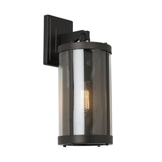 Feiss Bluffton 1 Light Oil Rubbed Bronze Wall Sconce