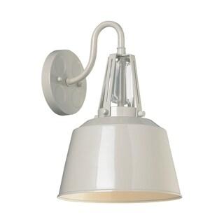 Feiss Freemont 1 Light Hi Gloss Grey Lantern