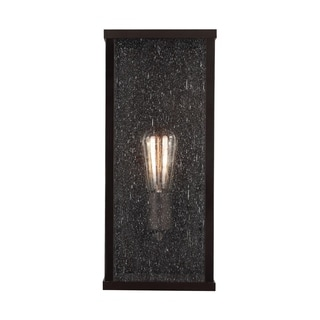Feiss Lumiere Single Light Oil-rubbed Bronze Wall Sconce
