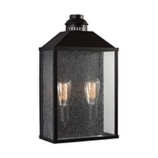 Feiss 2 - Light Outdoor Wall Sconce, Oil Rubbed Bronze