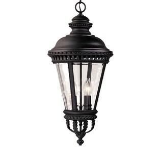 Feiss 4 - Light Pendant, Black