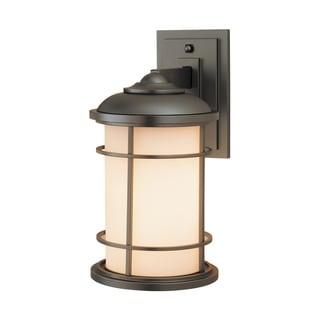 Feiss Lighthouse 1 Light Burnished Bronze Wall Lantern