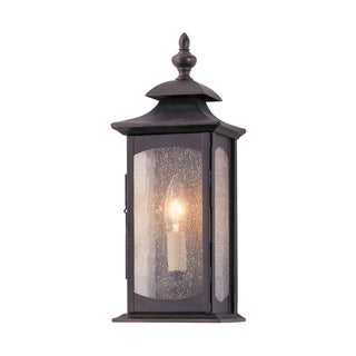 Feiss Market Square 1 Light Oil Rubbed Bronze Wall Lantern