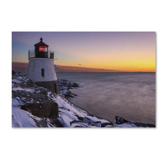 Michael Blanchette Photography 'Light on the Bay' Canvas Art