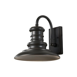 Feiss Redding Station 1 Light Restoration Bronze Lantern