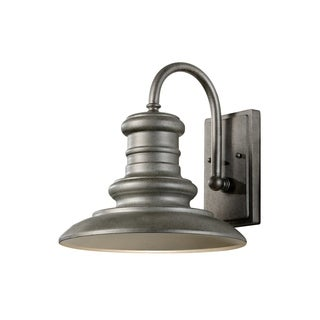 Feiss Redding Station 1 Light Tarnished Silver Lantern
