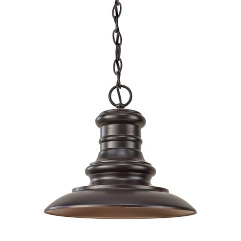 Feiss 1 - Light Outdoor Lantern, Restoration Bronze