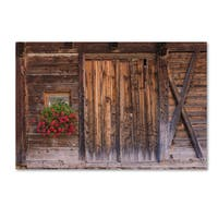 Michael Blanchette Photography 'Rustic Charm' Canvas Art