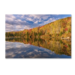 Michael Blanchette Photography 'October Mirror' Canvas Art