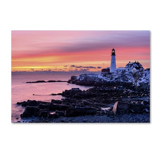 Michael Blanchette Photography 'Light of Dawn' Canvas Art