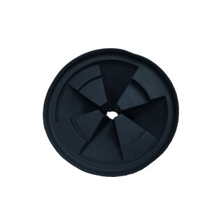 Black Rubber Replacement Quiet Collar Sink Baffle for InSinkErator